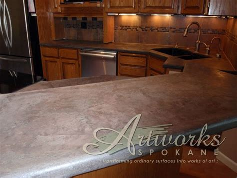 Concrete Tile Countertop by 1000 Images About Skimstone Countertop Makeovers On