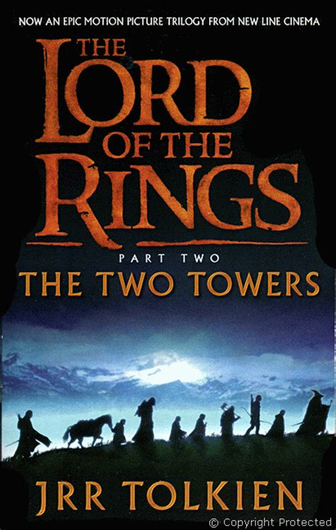 libro the two towers lord tolkien j r r the lord of the rings the two towers