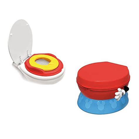 Mickey Mouse Potty Chair by The Years Disney Baby Mickey Mouse 3 In 1 Celebration Potty System 885182692324