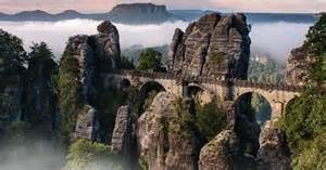 Rugged Watches Bastei Bridge In The Elbe Sandstone Mountains Germany