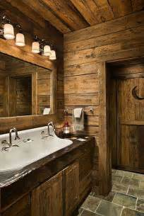 rustic cabin bathroom ideas rustic bathrooms the owner builder network
