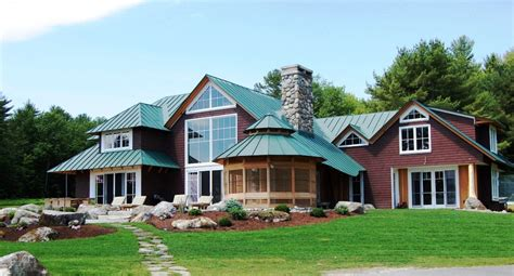 building a new home why not consider a standing seam