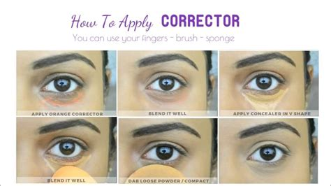how to apply color corrector beginners guide makeup basics all about correctors