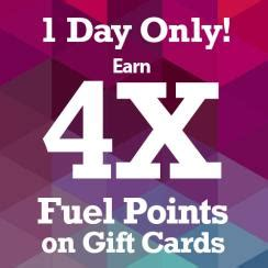 Qfc Gift Card - qfc 4x the fuel points on gift cards saturday january 23rd only