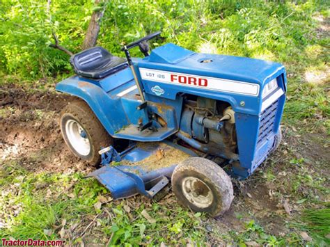 Ford Garden Tractor by Tractordata Ford Lgt 125 Tractor Photos Information