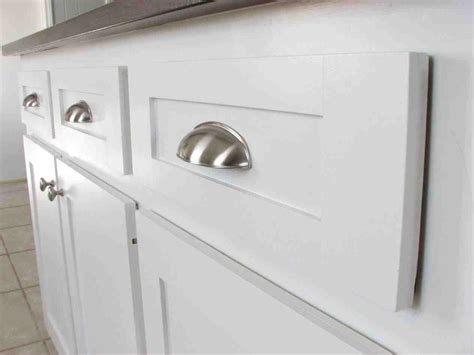 White Cabinets With Brushed Nickel Hardware by Brushed Nickel Cabinet Pulls On White Cabinets
