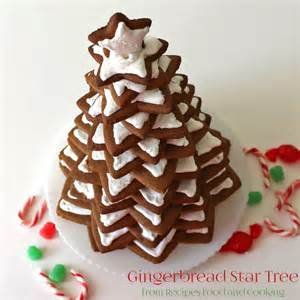 gingerbread tree recipes food and cooking