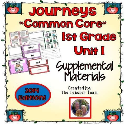 Journeys Gift Card Pin - journeys 1st grade unit 1 supplemental activities and printables cc 2014 common