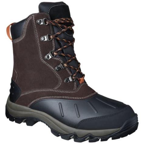 target snow boots mens men s merona 174 nabil winter boot target clearance
