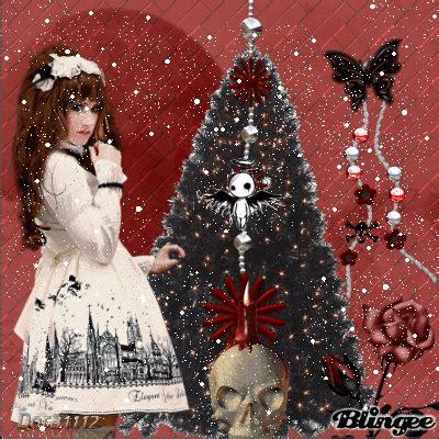 imagenes goticas blingee navidad gotica fotograf 237 a 126975109 blingee com