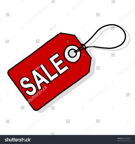 drawing for sale sale price tag illustration red tag stock illustration