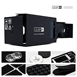 Cardboard Luxury Version Reality For Smartphone Leap Hd Brand New Reality Cardboard Toolkit
