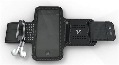 porta iphone per correre fascia da braccio iphone 5 per corsa xtrememac in offerta