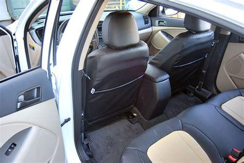 kia seat covers 2014 kia optima 2013 2014 leather like custom fit seat cover ebay