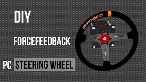Harga Diy Steering Wheel Arduino by Diy Arduino Forcefeedback Steering Wheel Part 1