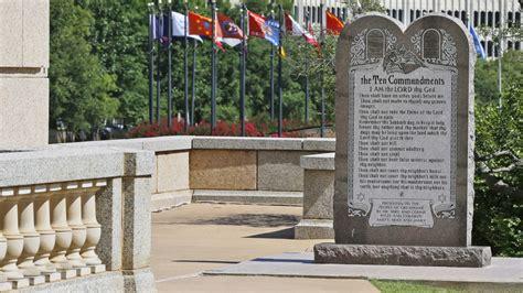 Oklahoma Supreme Court Search Oklahoma Supreme Court Orders Ten Commandments Removed Cnnpolitics