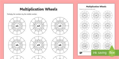 wheels activity table multiplication wheels worksheet activity sheet