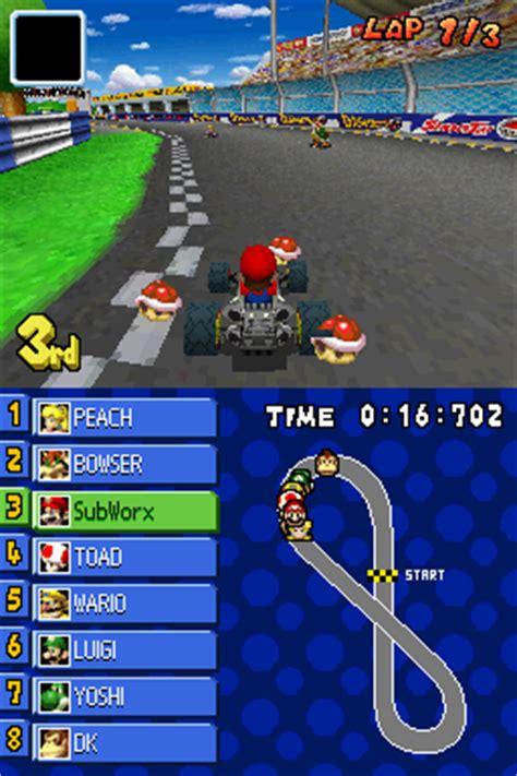 Nintendo Mario Kart Ds Track Race Set Because We by Mario Kart Ds Screenshots For Nintendo Ds Mobygames