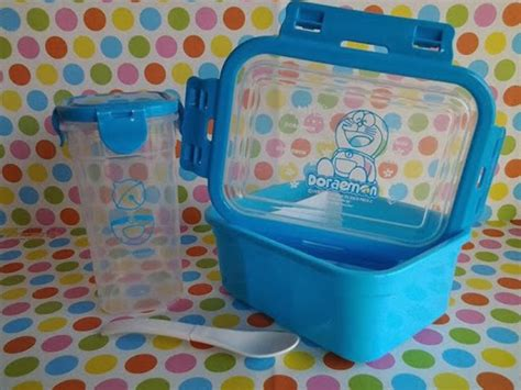 Lunch Box Doraemon Isi 3 Kotak Makan Doraemon Lunch Box Murah Images