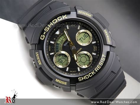 Casio Aw 591gbx 1a4 casio g shock black and gold analog digital 200m aw 591gbx 1a9 aw591gbx reddeerwatches