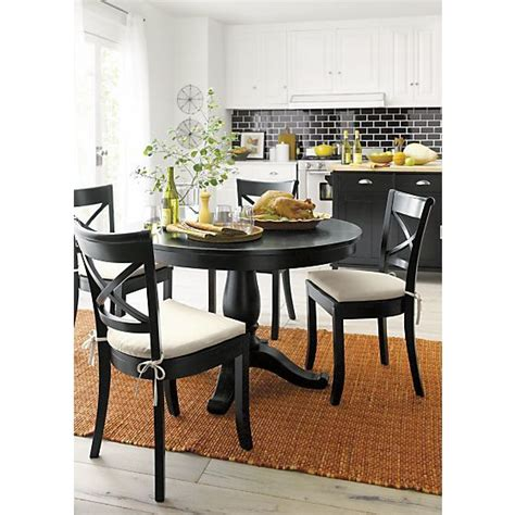crate and barrel dining room sets vintner dining chairs crate and barrel pinterest