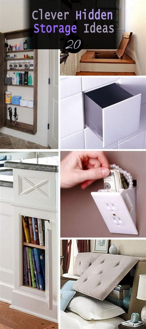 clever storage ideas 20 clever hidden storage ideas hative
