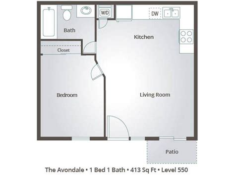 one bedroom apartments in avondale az 1 bedroom apartment floor plans pricing level 550 mesa az