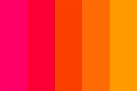 leo color leo sun sign color palette colour palettes