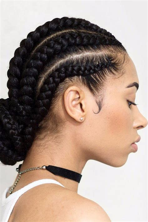 Cornrow Hairstyles For Hair For by 1000 Ideas About Side Cornrows On Cornrow