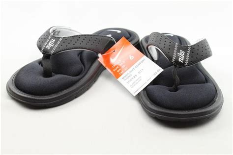 nike comfort foot bed nike 32 comfort footbed womens flip flops sandals shoes 6