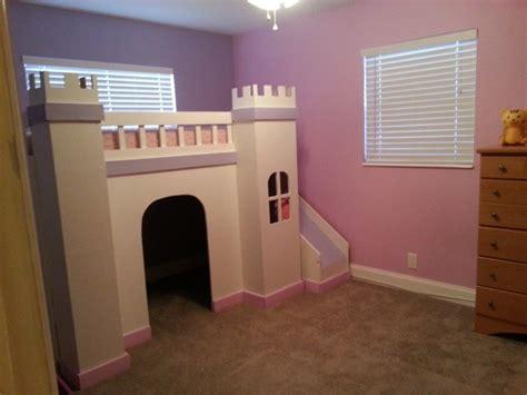 ana white princess castle loft bed diy projects