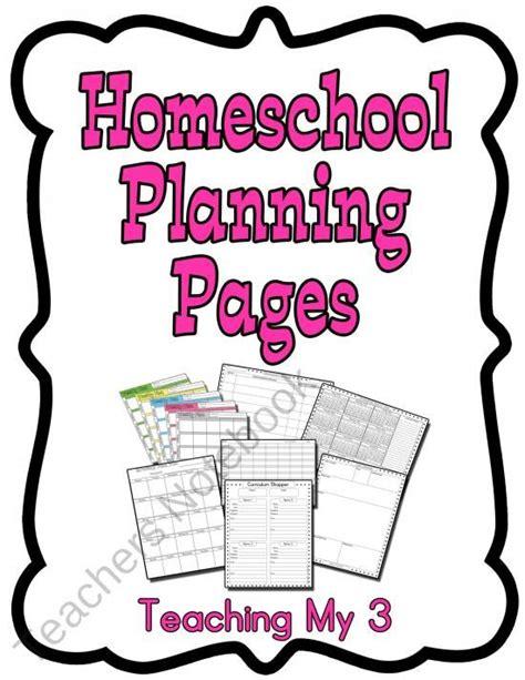 homeschool lesson plan calendar 20 best images about planners on pinterest homeschool