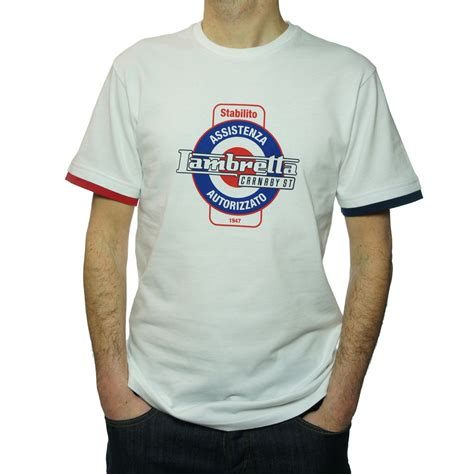 T Shirt Lambretta 5 by Buy Lambretta Mens Service T Shirt In White Jon Barrie