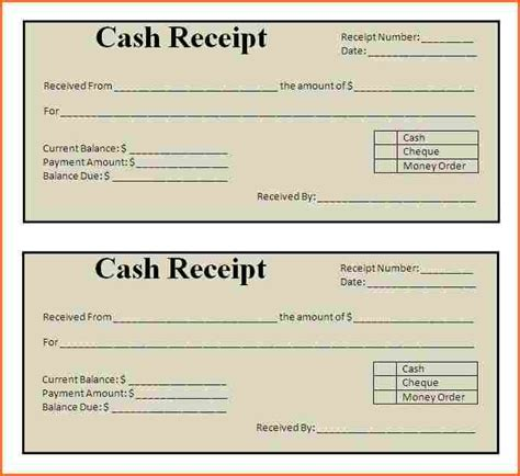 uk rent receipt template search results for free printable receipt book