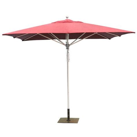 Square Patio Umbrellas Galtech 10x10 Square Commercial Patio Umbrella