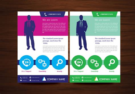 layout of flyer vector brochure flyer design layout template in a4 size