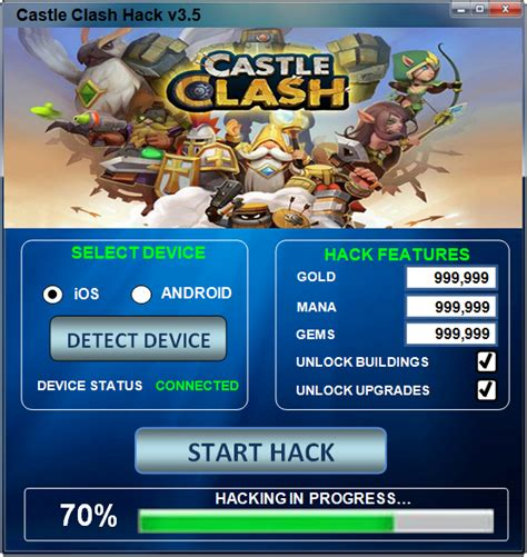 tutorial hack castle clash februarie 2014 hacks for gamers