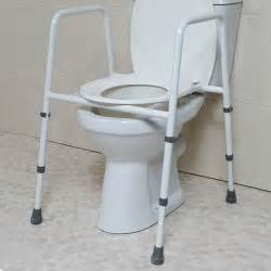 wc gestell height adjustable toilet frame with seat toilet frames