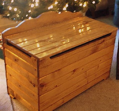 Wood Toy Box Plans Free