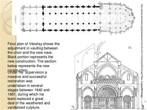 romanesque church floor plan 11 best images about romanesque and gothic comparison on