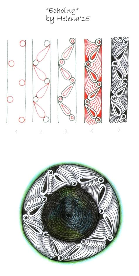 zentangle pattern coil 17 best images about zentangles on pinterest celtic