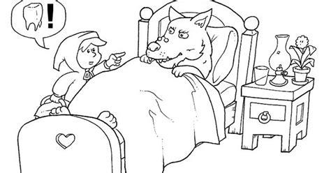 caperucita roja dibujos animados en dibujos animados para colorear dibujos de caperucita roja