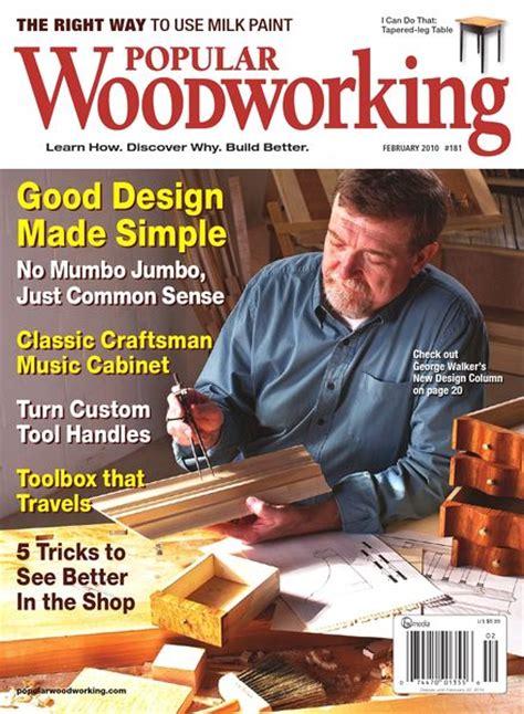 best woodworking magazine popular woodworking 181 2010 pdf magazine