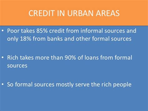 Difference Between Formal And Informal Credit In India Money And Credit Cbse Class X
