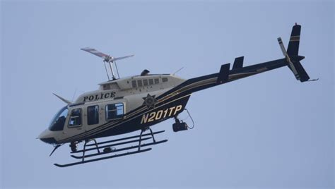 Police Helicopter Hit By Laser Beam Tulsan Charged With