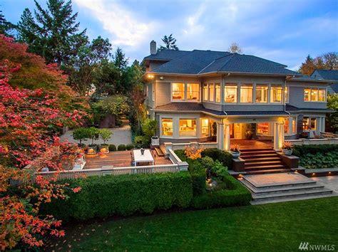 buy house seattle washington waterfront property in seattle bellevue lake washington lake sammamish