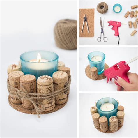 costruire candele un centrotavola natalizio realizzato con i centrini di