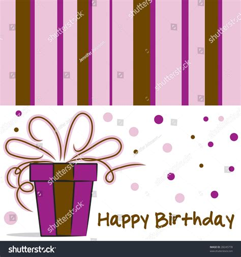 feminine birthday card templates vector happy birthday card layout feminine stock vector