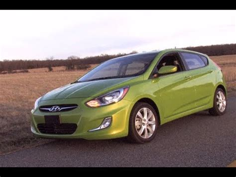 2012 Hyundai Accent Mpg by 2012 Hyundai Accent Review Mpgomatic Test Drive Start