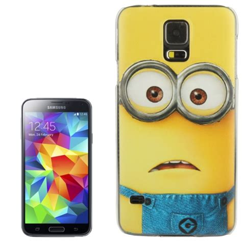 Minion Despicable Me Tpu Samsung Galaxy S5 Gray sunsky despicable me minions pattern plastic for samsung galaxy s5 g900